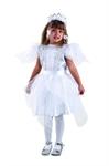 Карнавальный костюм Снежинка серебряная - 8044