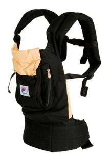 Рюкзачок-переноска Черный/бежевый. Артикул: BC6CA