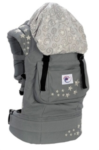 Рюкзачок-переноска Серый со звездами.Артикул: BC2EP