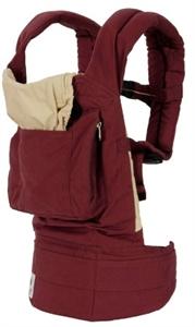 Рюкзачок-переноска Органик Бордо/кремовый. Артикул: BC4OL