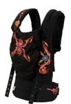 Рюкзачок-переноска Органик Черный с вышивкой.Артикул: BC6OE