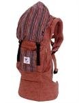 Рюкзачок-переноска Органик Сиена с вышивкой.Артикул: BC14TOSS