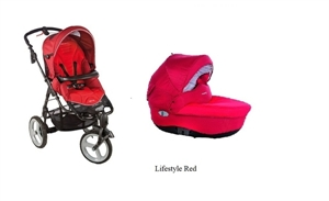 Детская коляска Bebe Confort High Trek + люлька Windoo