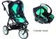 Детская коляска Bebe Confort High Trek + автокресло Creatis Fix