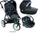Детская коляска Bebe Confort High Trek + люлька Windoo + автокресло Creatis Fix