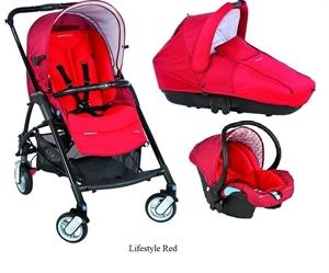 Детская коляска Bebe Confort Streety + люлька Streety + автокресло Streety