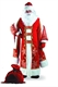 Карнавальный костюм Дед Мороз Царский 187