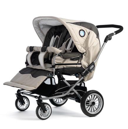 Прогулочная коляска для двойни Emmaljunga Twin Nitro.