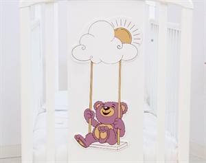 Кроватка Angela Bella Жаклин Мишка на качелях