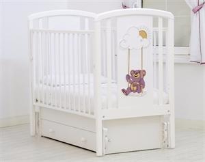 Кроватка Angela Bella Жаклин Мишка на качелях - маятник