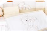 Набор постельного белья Lepre Sweet Bears Горошек