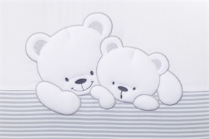 Комплект сменного белья Lepre Sweet Bears Полоска