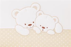 Комплект сменного белья Lepre Sweet Bears Горошек