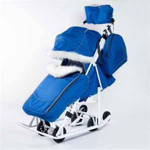 Коляска-санки Pikate Снеговик василек