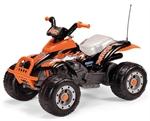 Квадрацикл Peg-Perego Corral T-Rex + подарок