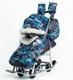 Санки-коляска Pikate Military серый