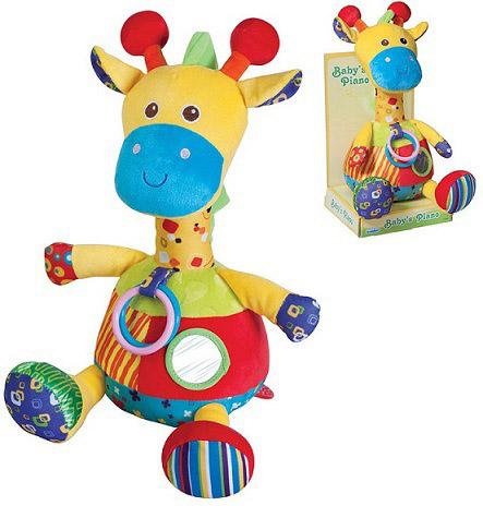 Показать информацию о Подвесная игрушка Parkfield Жираф с вибрацией