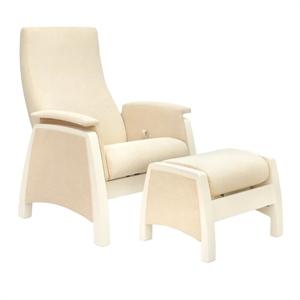 Кресло для кормления+пуф Milli Sky Vanilla
