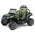 Электромобиль Peg-Perego Polaris Ranger RZR Green Shadow