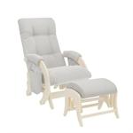 Кресло для кормления+пуф Milli Smile Light Grey