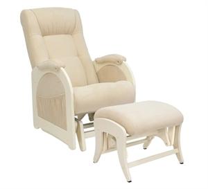 Кресло для кормления+пуф Milli Joy Vanilla