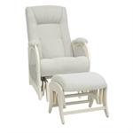 Кресло для кормления+пуф Milli Joy Light Grey