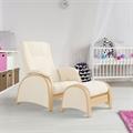 Кресла для кормления с пуфиком
