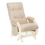 Кресло для кормления Milli Smile дуб шампань/эко кожа Polaris Beige