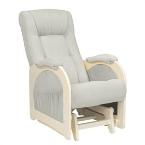 Кресло для кормления Milli Joy дуб шампань/Verona Light Grey