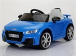 Электромобиль Joy Automatic Audi TT синий