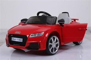 Электромобиль Joy Automatic Audi TT красный