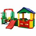 Игровые развивающие центры, домики, площадки, качели