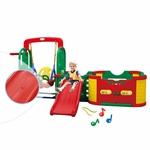 Игровая зона Happy Box JM-1003 Smart park с горкой, муз. панелью, баскетбольным кольцом