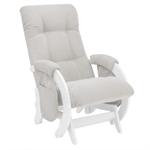 Кресло для кормления Milli Smile дуб молочный/Verona Light Grey