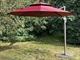 Садовый зонт Gardenway Turin A002-3000 XLM бордовый