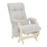 Кресло для кормления Milli Smile дуб шампань/Verona Light Grey